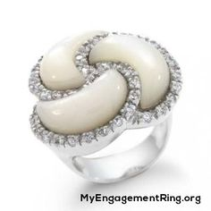 ♥ pearls engagement rings - My Engagement Ring
