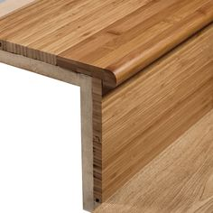 Extensive range of wood floor trims from Woodpecker. Choose from twins, ramps, ends, stair nosing and more to complement every colour in the collection. Laminate Stairs, Hardwood Stairs, Wooden Stairs, Hardwood Floors, Stairs Cladding, Wood Stair Treads, Stair Renovation, Basement Steps, Natural Wood Flooring
