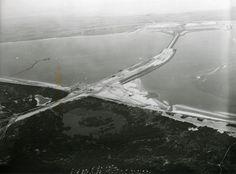 Lucht foto van de Delta.