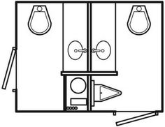 Bathroom Layout Plan – How to truly turn your Bathroom into a Rejuvenating Retreat Led Porch Light, Porch Lighting, Bathroom Layout Plans, Outdoor Toilet, Etched Mirror, Floating Cabinets, Portable Toilet, Free To Use Images, Bathroom Cabinets