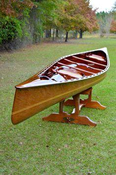 Wooden CANOE!