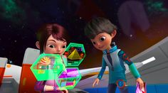 Google teams with Disney to make intergalactic cartoon to inspire kids to code