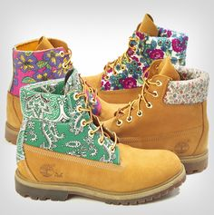 Colette Limited Edition Timberland 6 Inch boots