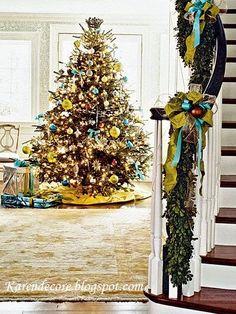 Decore Sua Mente, Seu Corpo E Seu Espaço: Que Tal Sua Decoração de Natal no Blog ?