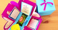 Diy Exploding Gift Box