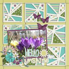 hello spring april sectional - miss fish templates   spring has sprung - ponytail designs   http://store.gingerscraps.net/April-Sectional-Templates.html   http://store.gingerscraps.net/Spring-Has-Sprung-ponytails.html