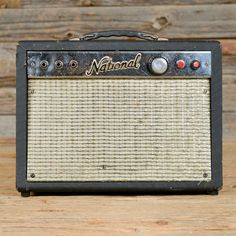 National 1x8 Tube Combo Amp 1960s from Chicago Music Exchange