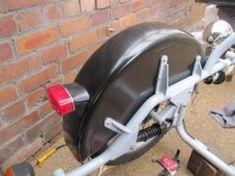 Building the Sidecar Bodywork Cantilever Suspension, Football Helmets, Engineering, Motorcycle, Building, Design, Buildings, Motorcycles