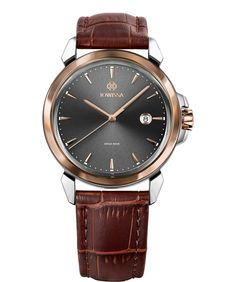 Jowissa produces high-quality, distinctive men's watches with a streamlined design, premium materials and dazzling reflections. Find your stylish accessories for any occasion. All Swiss Made. Mens Watches Leather, Watches For Men, Black Watches, Latest Watches, Swiss Made Watches, Watch Case, Stainless Steel Case, Brown And Grey, Quartz