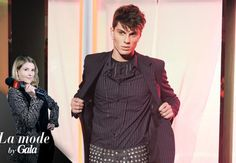 Deux visions de la mode masculine: Viktor & Rolf, Jean Paul Gaultier. Merci à JeanPaul Paula de WAD Magazine pour son intervention