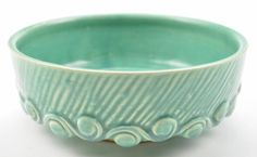 McCoy Art Pottery Green Bowl / Planter - 7