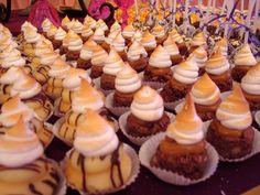 Mini deserts (Boston/Brownie Bombon)