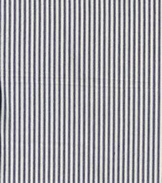Utility Fabric-Mattress Ticking Blue WideUtility Fabric-Mattress Ticking Blue Wide,