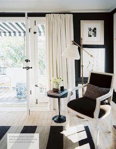 decorology: Interior designer Mark Sikes' Southern California Home: Open, glamorous, and elegant
