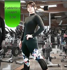 Fabletics Brogan Capri like-new! $ 30 #fabletics #leggings #buymycloset #buymygymcloset