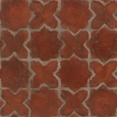 Now, put these in grayscale and they'd be perfect. Fabric Covered Walls, Terracotta Floor, Space Architecture, Tile Patterns, Kitchen Flooring, Tile Design, Tile Floor, Tiles, Wall Tile