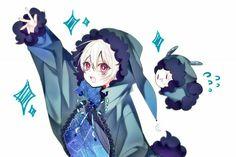 Mystical Creatures Drawings, Creature Drawings, Vocaloid, Kaito, Neko Kawaii, Kawaii Art, Chica Anime Manga, Anime Art, Photo Manga