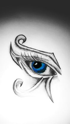 I created this tattoo recently, inspiration from the left horus eye and it's symbolism of life.