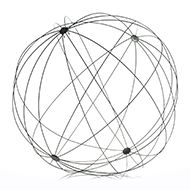 """Accent Decor - Global Wire Sphere 47.25"""""""