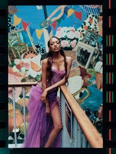 GOWNS of Brixton | Jourdan Dunn | Tyrone Lebon #photography | Vogue US October 2012