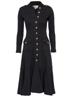 NEW Ralph Lauren Denim&Supply Military Officer Long Coat Jacket- Womens- XS #RalphLauren #BasicJacket