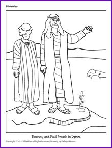 barnabas coloring page - vbs paul on pinterest in prison damascus and paul bible