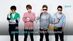 "genie's pick LIVE with ""DICKPUNKS(딕펑스)"