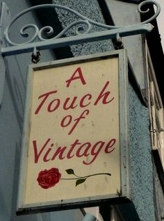 The most perfect shop sign in Lyme Regis, Dorset…the shop was full of all the things that the sign suggests!
