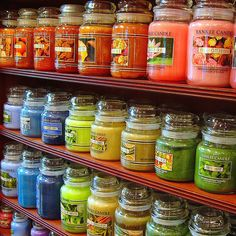 Yankee Candles-Need to have a YC burning in my house at all times....