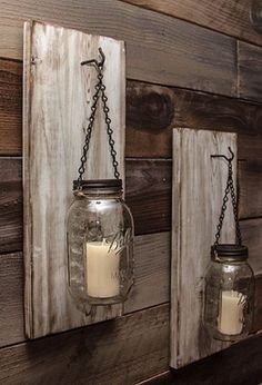 Teds Wood Working - Reclaimed Wood Mason Jar Sconce - RunwayDoneMyWay Reclaimed Wood Mason Jar… Get A Lifetime Of Project Ideas & Inspiration! Barn Wood Projects, Reclaimed Wood Projects, Reclaimed Furniture, Diy Furniture, Diy Projects, Furniture Plans, Barn Wood Furniture, Barn Wood Decor, Reclaimed Wood Signs