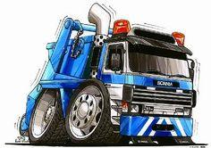Kartoon Cartoon Cars Bikes Vehicles - 3500 vehicles to choose from Cartoon Sketches, Cartoon Styles, Cartoon Art, Truck Art, Trucks And Girls, Weird Cars, Car Drawings, Commercial Vehicle, Car Humor