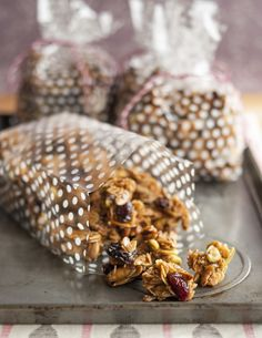 Homemade Gift Recipe: Cherry Pistachio Granola Clusters — Recipes from The Kitchn