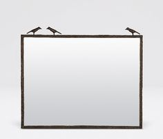Mirrors | Product Categories | Made Goods oiled bronze, satin silver polished brass 38 x 31, 26 x 40, 17 x 40