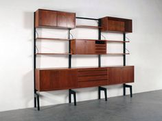 wall unit by poul cadovius for royal system see more poul cadovius staander google zoeken