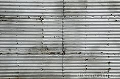 Photo about galvanized corrugated metal sheet with rivets pattern background peeling paint industrial texture weathered. Image of sheet, corrugated, peeling - 45435778 Peeling Paint, Corrugated Metal, Background Patterns, Textures Patterns, Textured Background, Blinds, Graphic Design, Stock Photos, Digital Scrapbooking