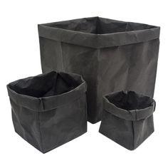 HOP. - Paperbag Zwart Kraft