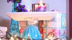 Lari Koze: DIY - Prato para bolo, pedestal, diy festa,