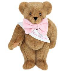 """15"""" Classic Sash Bear from Vermont Teddy Bear. $55.99 #Classic #Gift #TeddyBear"""