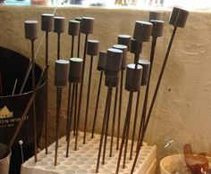 I have promised a tutorial, and here it is, finally! Prepare your mandrels as per usual manner. If it is a new set of mandrels, you will...