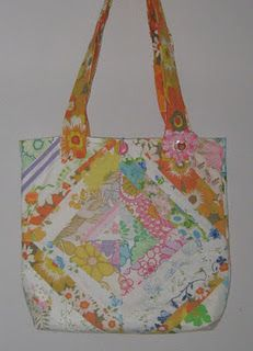 I actually made this bag and Catherine at the Velvet Barnacle won it.