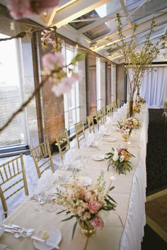 GRO Floral and Event Design   Garden Warmth: A Peony for your Thoughts cherry blossoms petroleum club