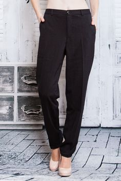 Cool & Casual Pinstripe Straight Leg Pants w/Front & Back Pockets! #UASpringCollection2015 #KhakisChinos
