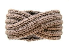 Ravelry: KnitsForLife's Cocoa Powder Wool Infinity Headband