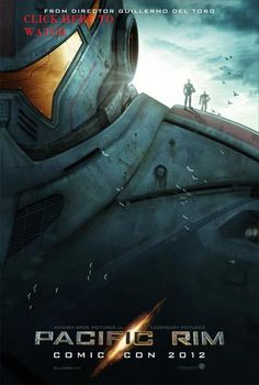 """PACIFIC RIM Poster Shows Giant Robots With Comic-Con only a few days away, there has been an influx of awesome content. Today we have our first look at a giant robot from Guillermo del Toro's Pacific Rim. This could be the Jaegar, """"the obsol Streaming Movies, Hd Movies, Movies To Watch, Movies Online, Movie Tv, Movies Free, Cult Movies, Hd Streaming, Idris Elba"""