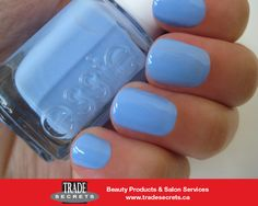"Finally, a bikini we can feel comfortable wearing all summer long. ""Bikini So Teeny"" from the Essie Summer Collection."