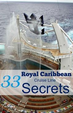 Royal Caribbean Cruise Line Secrets and Tips : 33 Royal Caribbean Cruise Line Secrets to plan your next cruise. Use these Royal Caribbean tips & tricks for a successful voyage w/ cruise Caribbean royal. Packing List For Cruise, Cruise Travel, Cruise Vacation, Vacation Trips, Vacation Ideas, Honeymoon Cruise, Cruise Destinations, Disney Cruise, Travel Pro