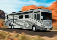 The Winnebago Journey (MSRP $299,638). Credit: Winnebago Industries Inc Luxury Motorhomes, Rv Campers, Recreational Vehicles, Journey, Motor Homes, Camper Ideas, Google Search, Camper Van, Airstream Trailers