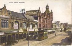 West Street – Durban – A Pictorial History Durban South Africa, Kwazulu Natal, Family History, Barcelona Cathedral, Afrikaans, Street, Building, Graham, Shops