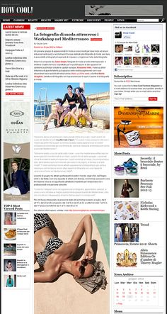 June event in How Cool, Italian fashion magazine