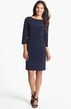 Tahari Tiered Jersey Sheath Dress (Regular & Petite) available at #Nordstrom